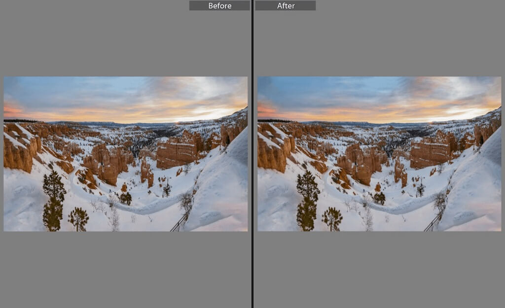 Editing Sunset Photos in Lightroom Mobile