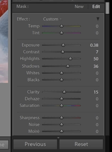 How to Edit Sunrise Photos in Lightroom Mobile
