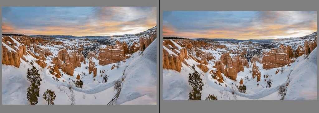 Editing Sunrise Photo in Lightroom