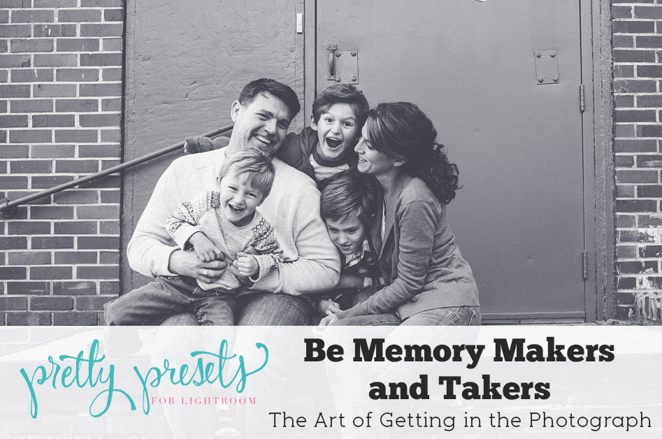 Memory Makers and Takers: the Art of Being in the Photograph