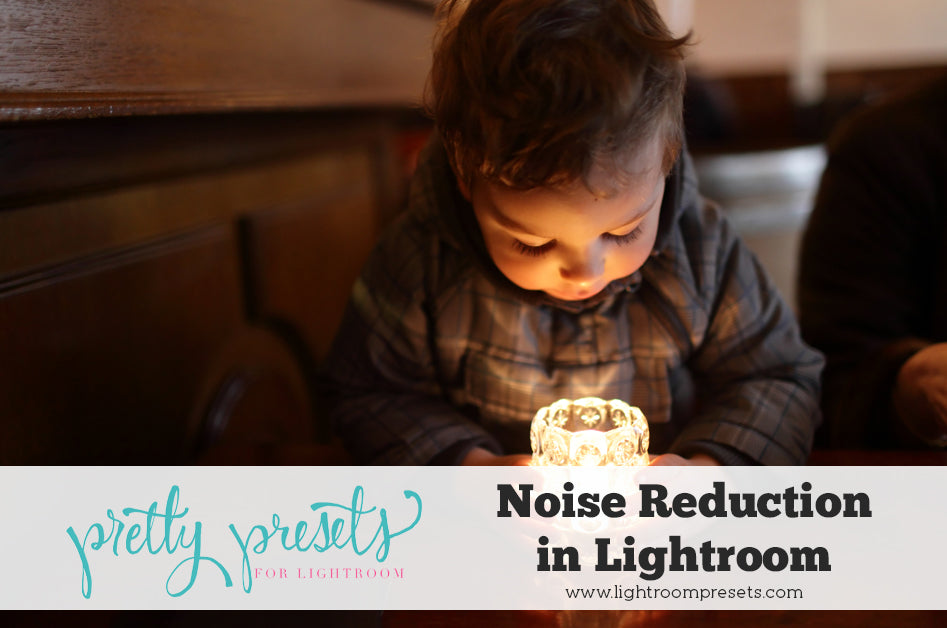 Reducing Noise in Lightroom | Lightroom Tutorial from Pretty Presets