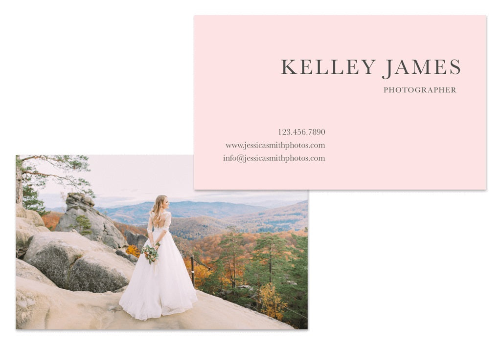 Photography Business Card Examples