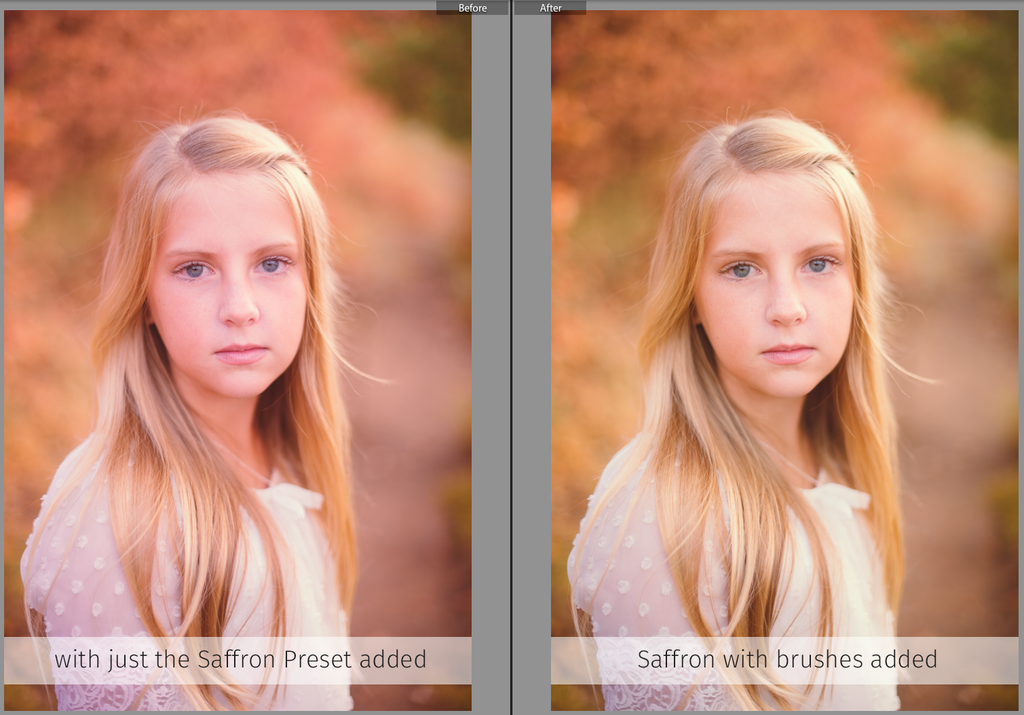 Customizing presets for Lightroom using brushes
