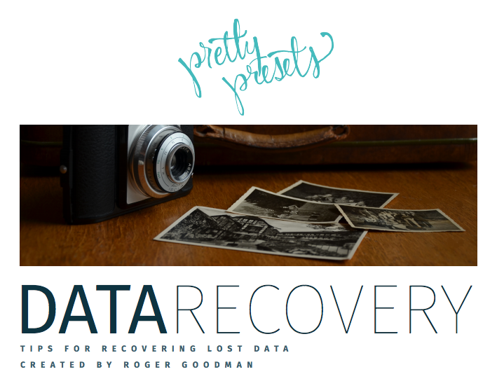 Data Recover FREE Download PDF by Roger Goodman