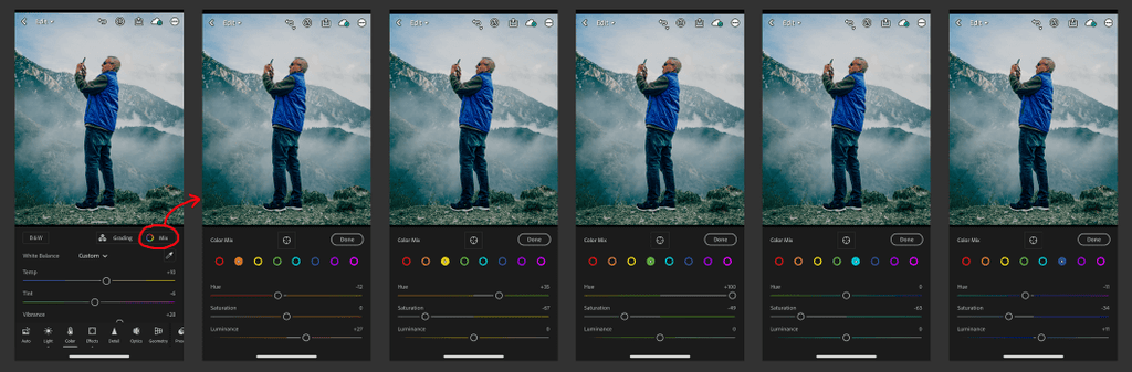 How to Edit Pictures in Lightroom Mobile