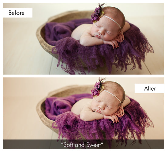 Dreamy Baby Lightroom Preset and Brush Collection