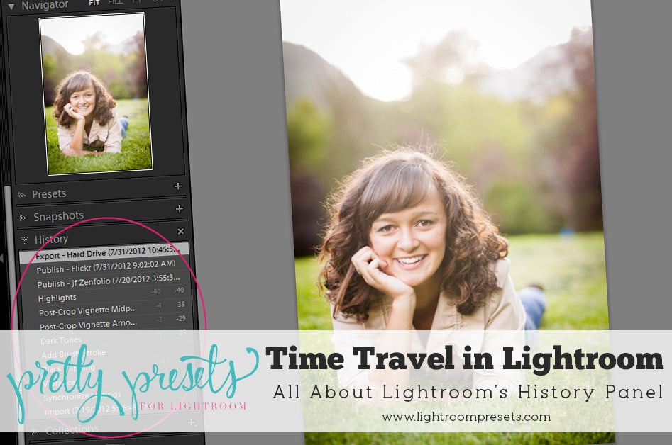 All About Lightroom's History Panel | Pretty Presets Lightroom Tutorial