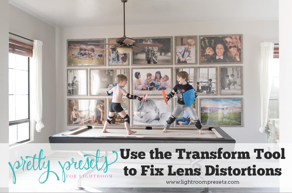 Use the Transform Tool to Fix Lens Distortions