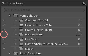 Lightroom Sync to Cloud