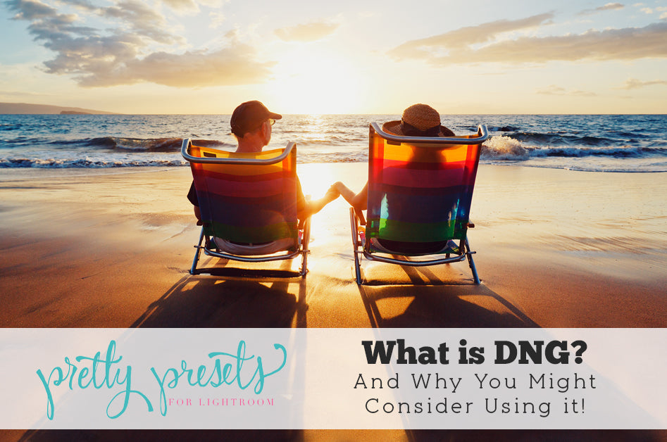 What is the DNG File Format? | Pretty Presets for Lightroom Tutorial