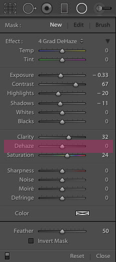 Where is the Dehaze Brush and Filter in Lightroom 6 and Lightroom Creative Cloud CC