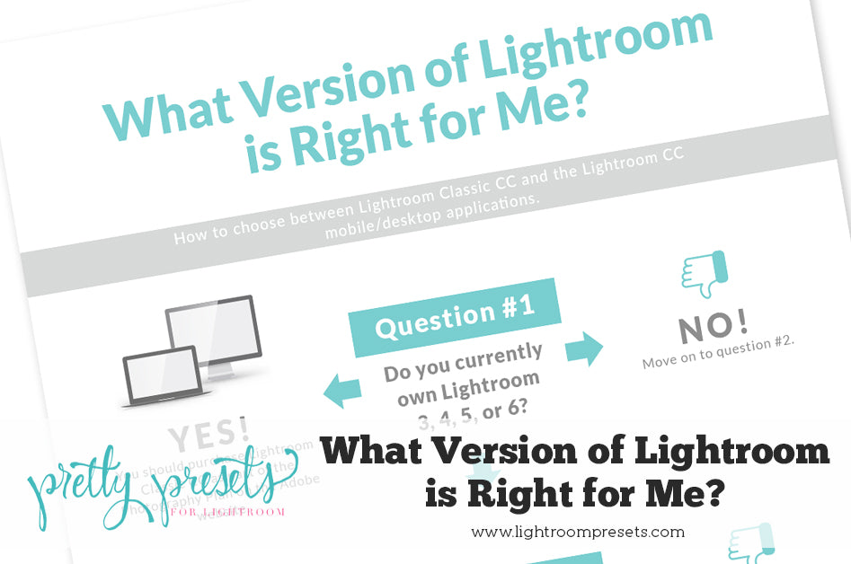 New Lightroom Classic CC or Lightroom CC App: Which Version is ...