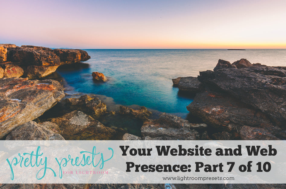 Your Photography Website and Web Presence