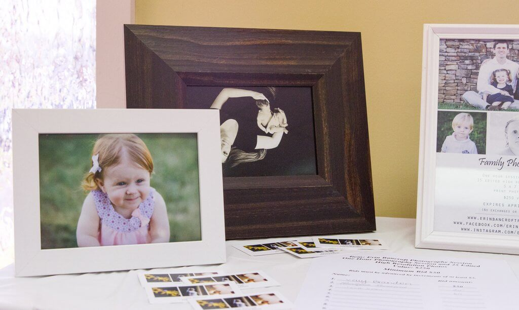 Photography Package for Silent Auction