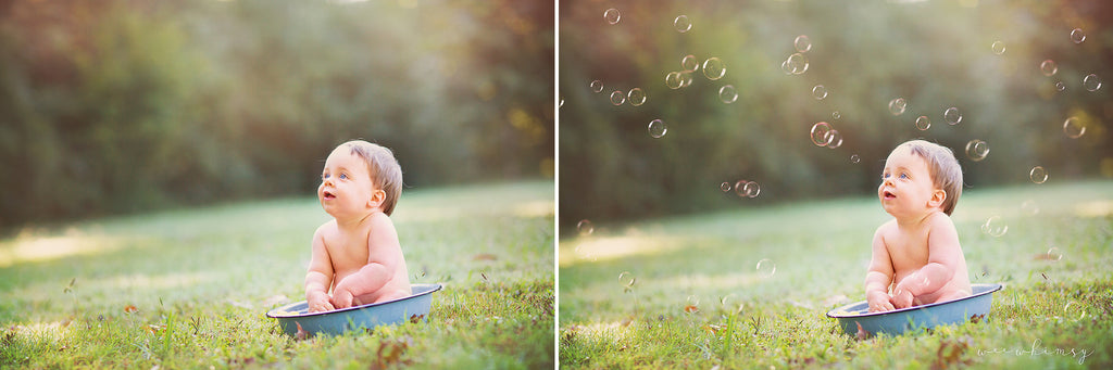 Bubbles overlay