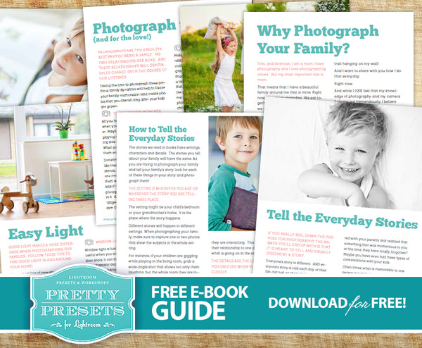 Photographing Your Kids: Tips for Taking Better Photographs of Your Kids and Family