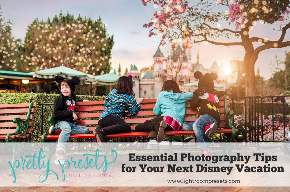 Disney World Photography Tips for Your Next Disney Vacation - Pretty Presets Tutorial