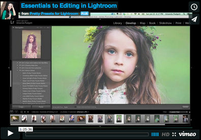 Essentials to Editing in Lightroom | Pretty Presets Lightroom Tutorial
