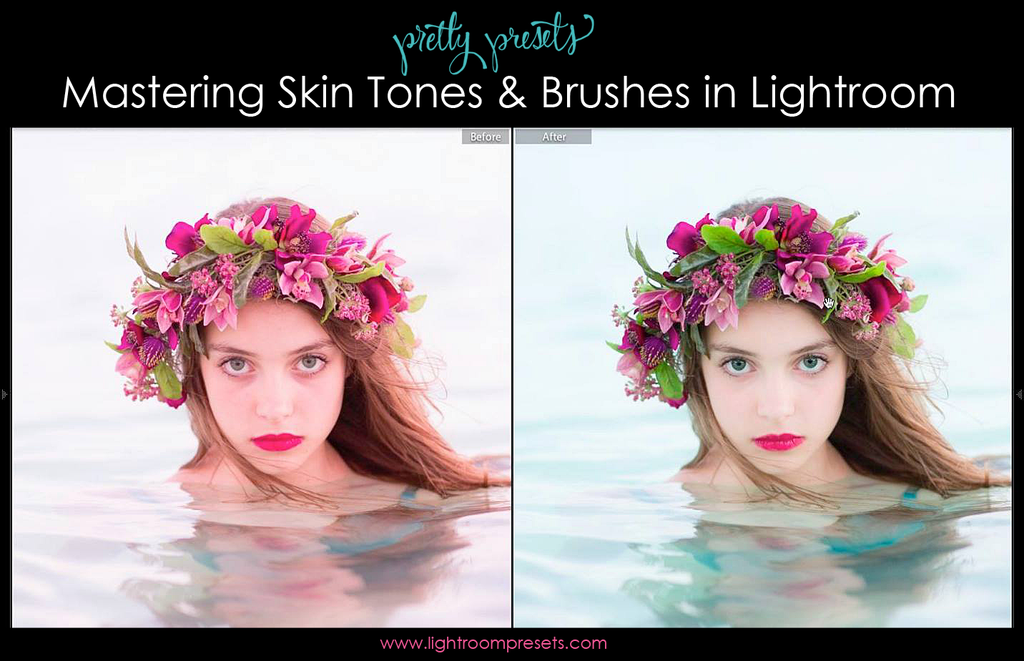 Mastering Skin Tones and Brushes in Lightroom | Pretty Presets Video Tutorial