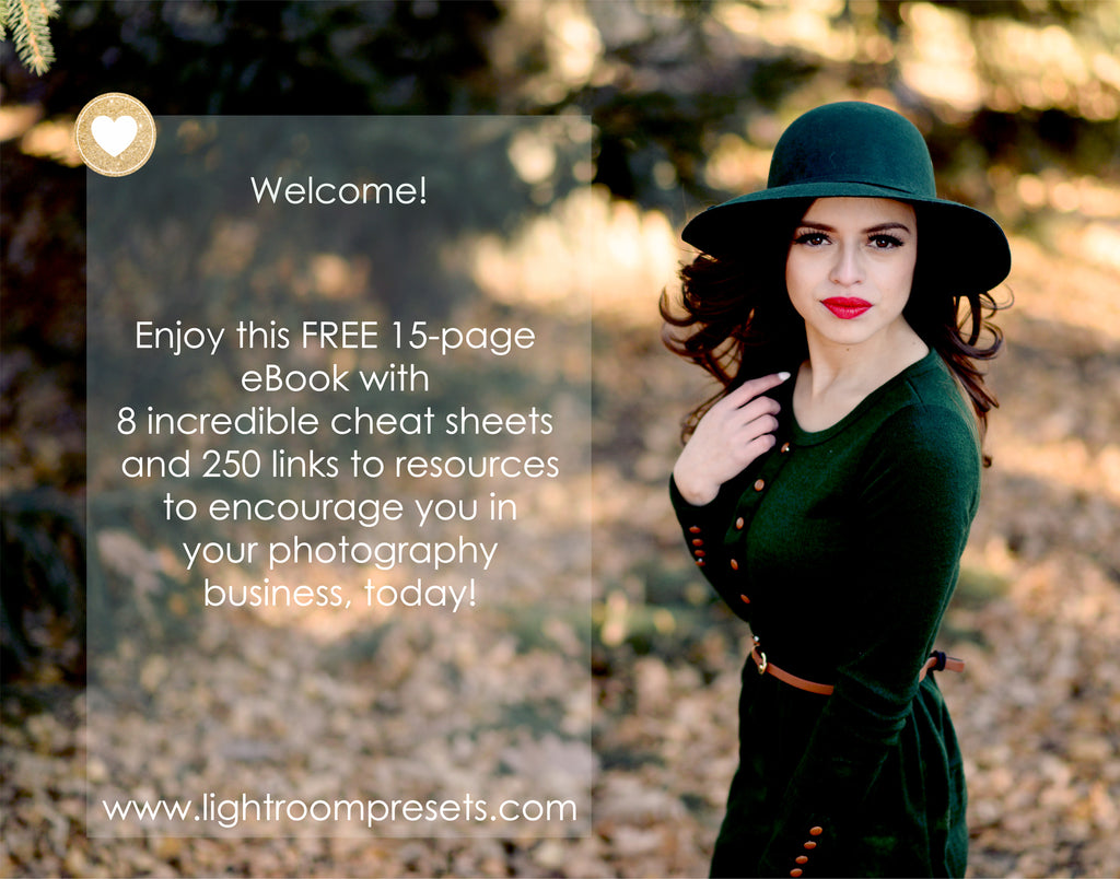 Free Photography Cheat Sheets | Pretty Presets Free Download