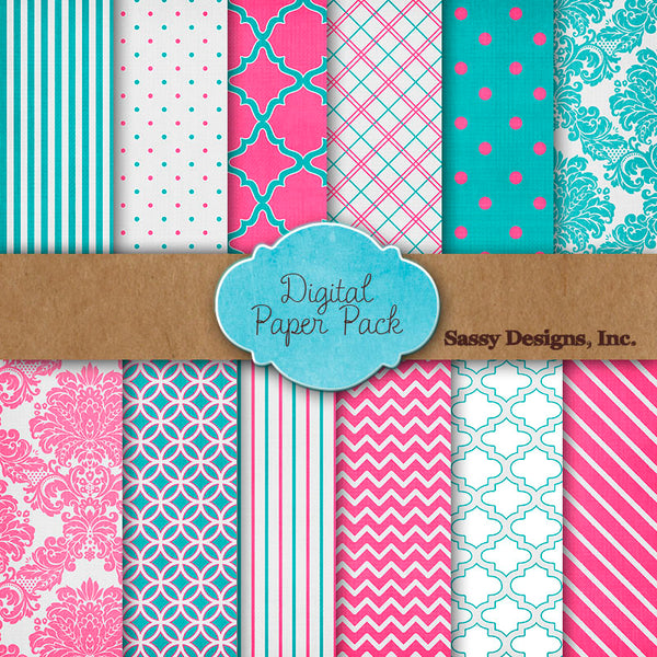 Free Digital Paper Pack from Pretty Presets - Celebrating ...
