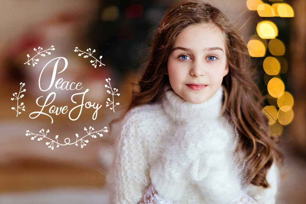 Free Holiday Overlays for Photoshop and Lightroom