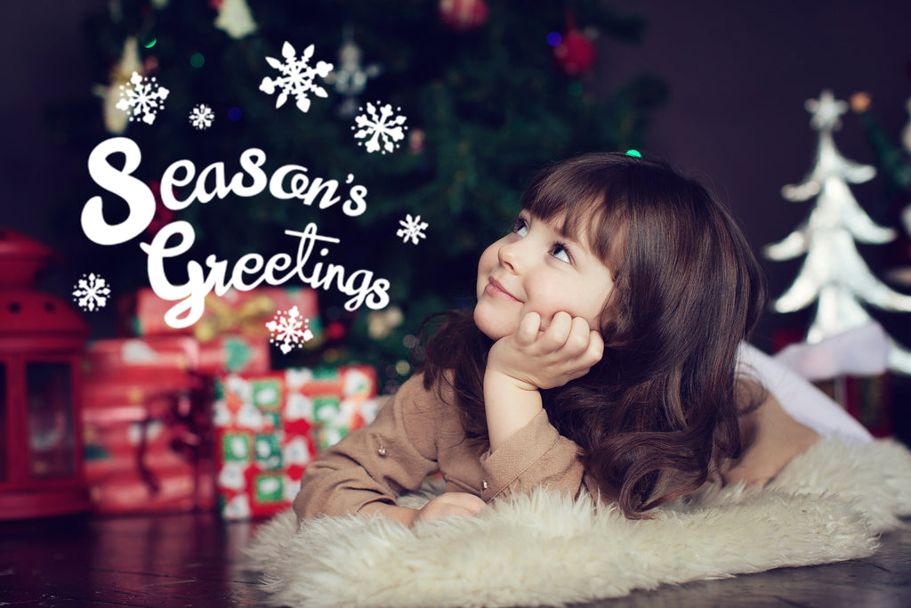 Free Holiday Overlays for Lightroom and Photoshop