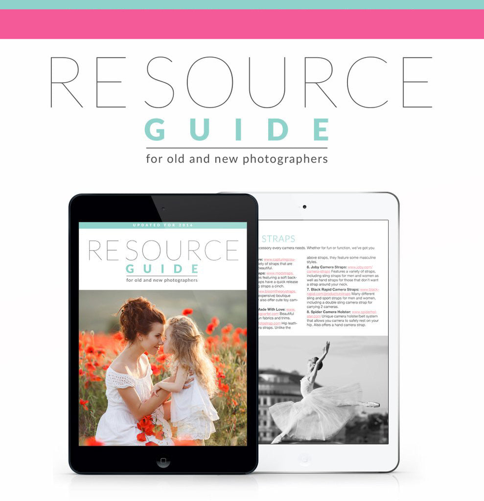 Resource Guide for Photographers