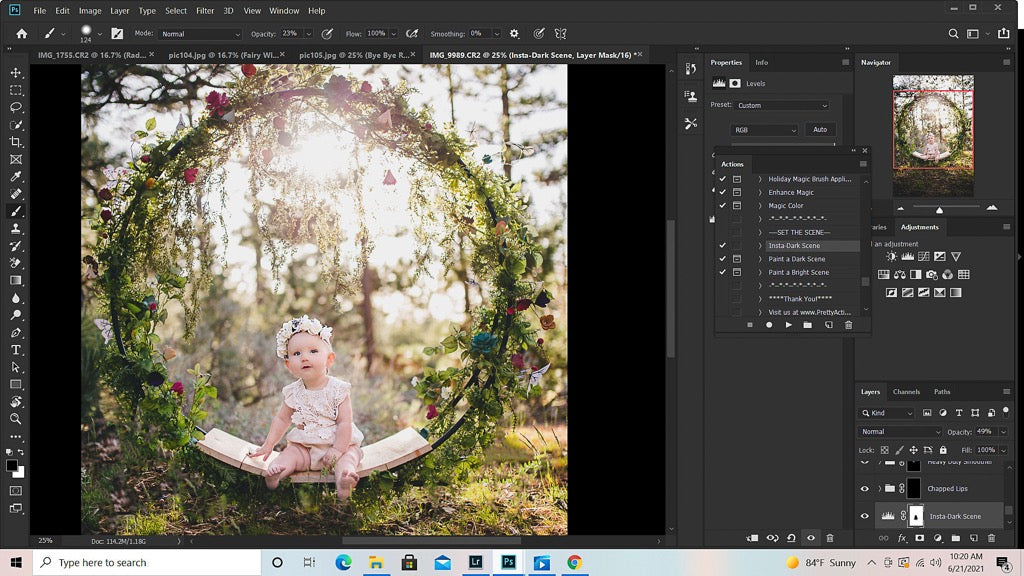 How to Make a Fairy Photo in Photoshop