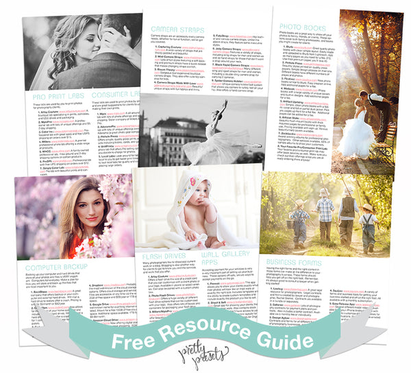 Free Download Resource Guide for Photographers
