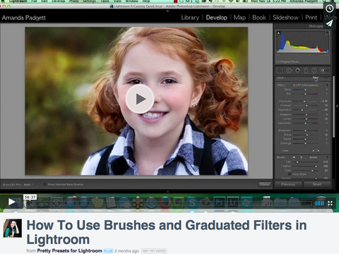How to Use Lightroom Brushes and Graduated Filters | Lightroom Video Tutorial