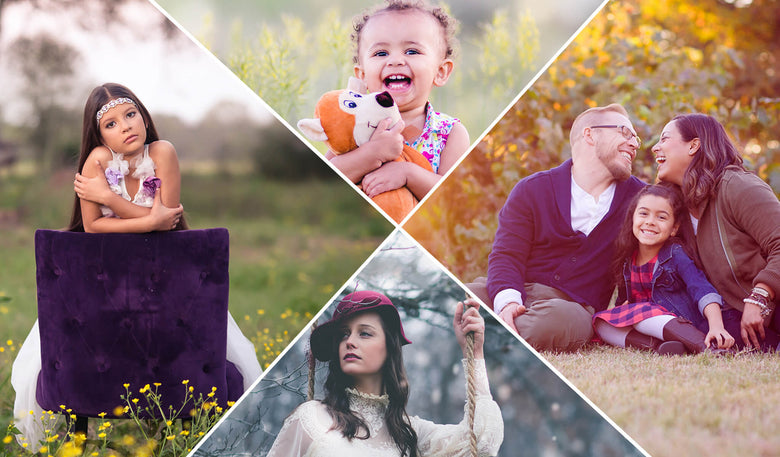 Four Seasons Bundle: Spring, Summer, Fall & Winter - Pretty Lightroom Presets