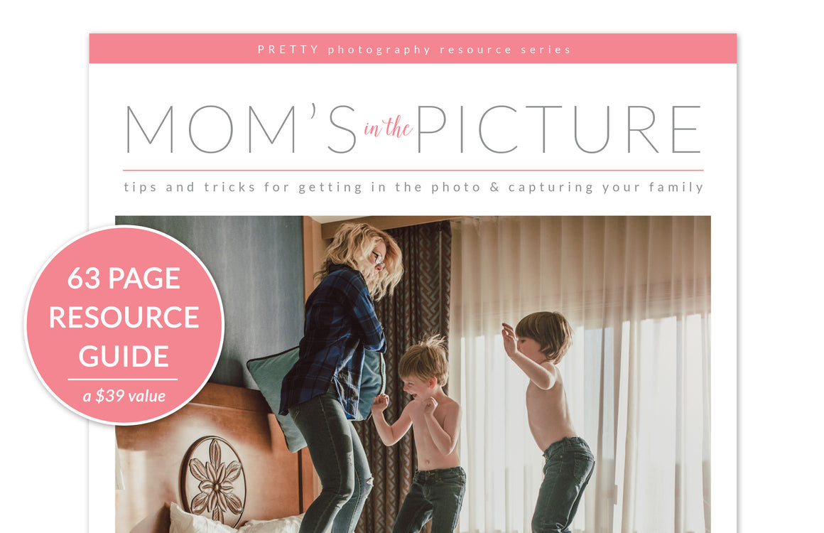 Gift: Mom's In The Picture - Pretty Lightroom Presets