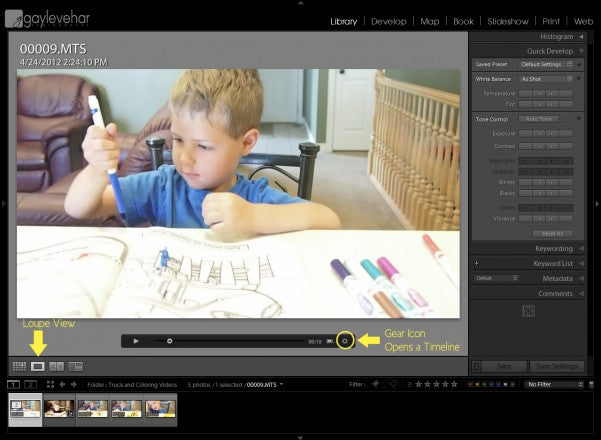 Getting the Most Out of the New Video Feature in Lightroom
