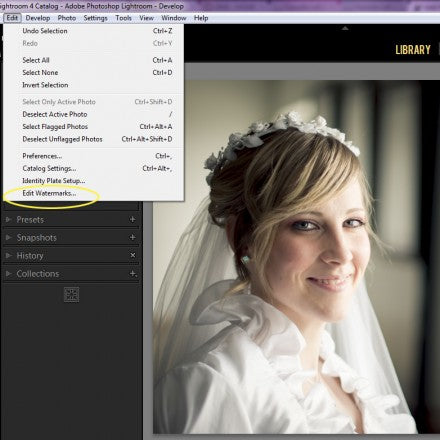 4 easy steps for creating a watermark in Lightroom | Pretty Presets for Lightroom