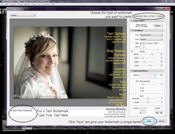 4 Easy Steps for Creating a Watermark in Lightroom
