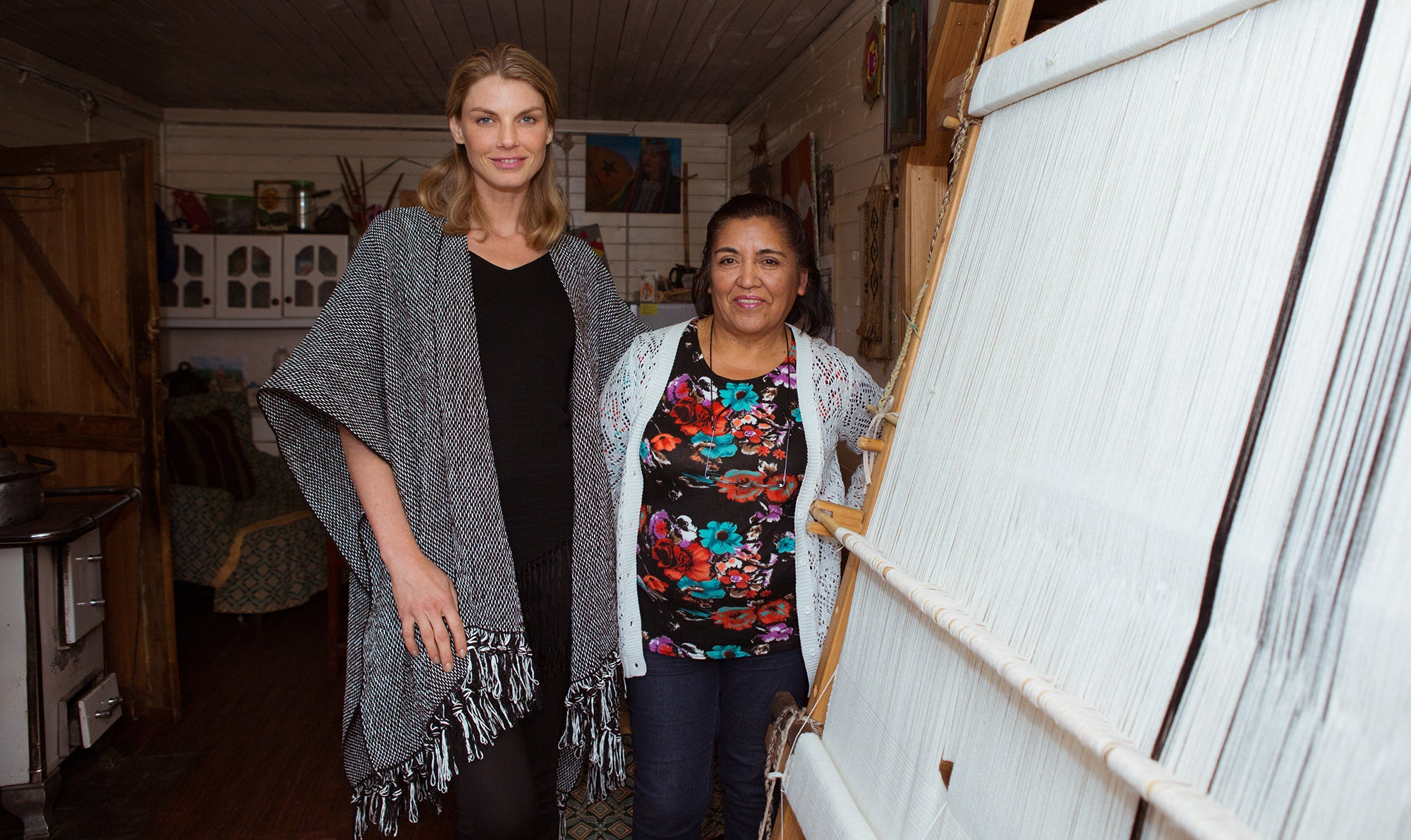 Angela Lindvall with VOZ Chile, Made by VOZ