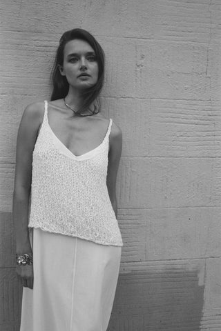 VOZ knit tank and cami dress