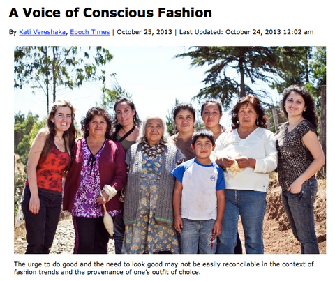 Voz is a voice of conscious fashion