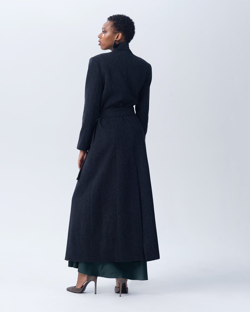 Assymetrical Long Coat