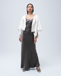 Thick Textured Organic Cotton Bolero