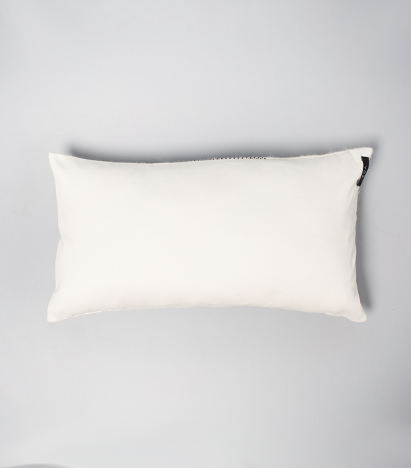 Solid Lumbar Pillow in Ivory