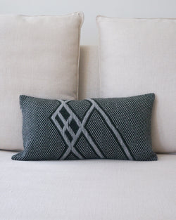 Che Lumbar Pillow in Forest Green