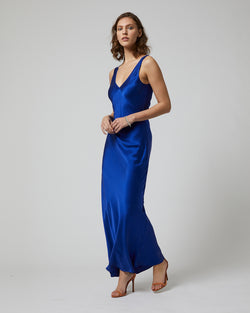 Long Double V Slip Dress