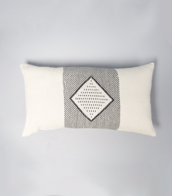 Diamante Lumbar Pillow in Ivory