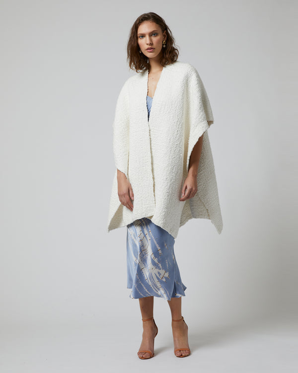 Chunky Textured Organic Short Duster