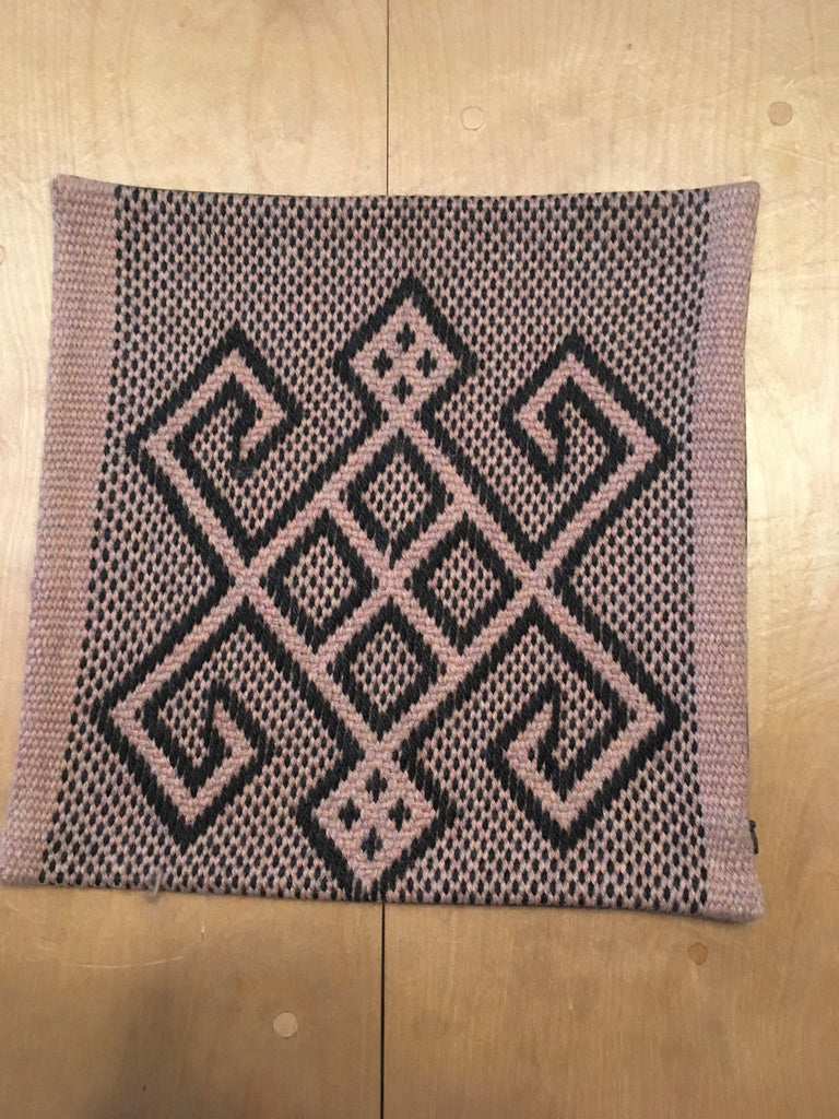 "Arana Alpaca Pillow Small 12""X12"""