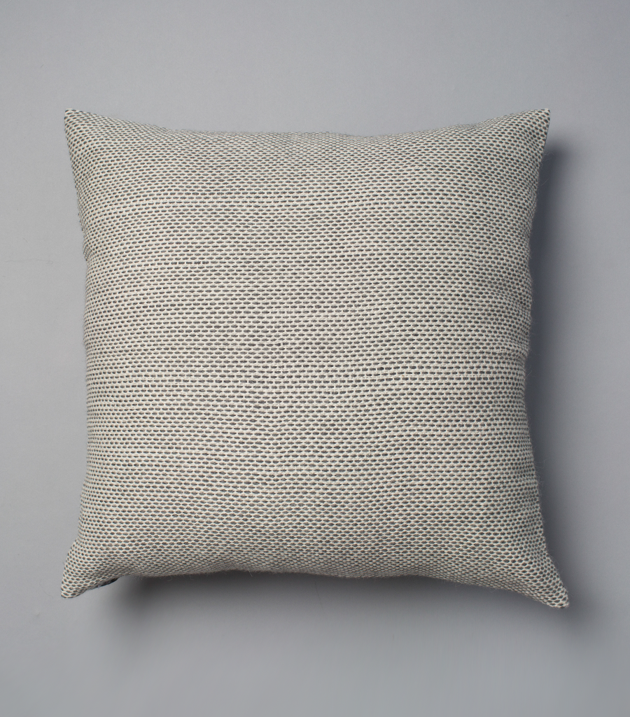 Lineas Euro Pillow in Light Grey
