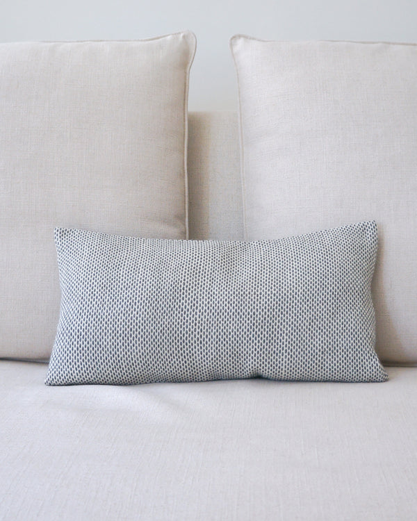 Lineas Lumbar Pillow in Ivory