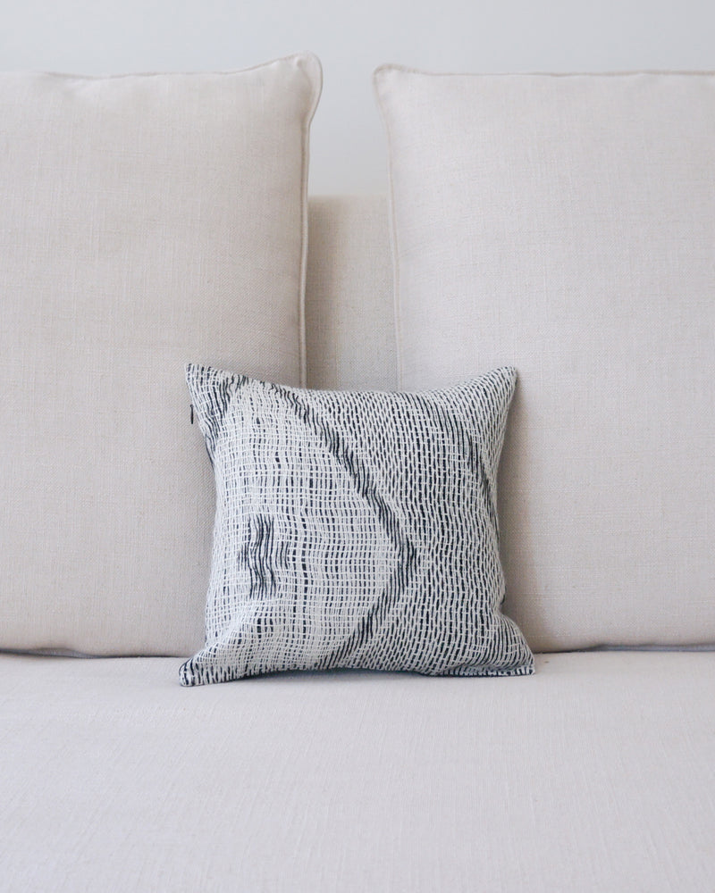 Zig-Zag Wave Small Decorative Pillow